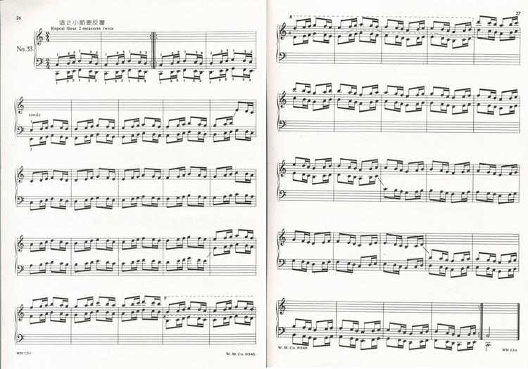 【批发】wn131《薇丽丝》哈农练习曲2 750